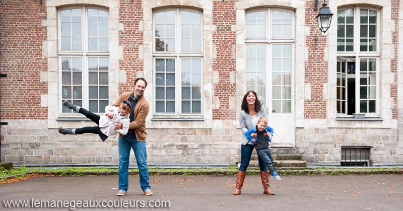 S ance photo en famille dans le vieux lille alix et z lie for Le jardin d alix lille