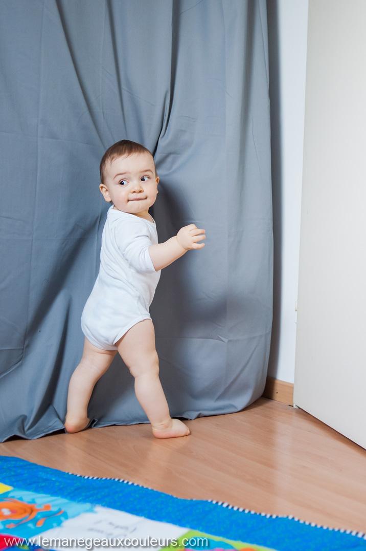 portrait enfant 1 an - idée cadeau anniversaire pour un bébé