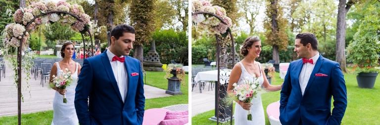 Photographe mariage paris chalet des iles daumesnil - La poste daumesnil ...