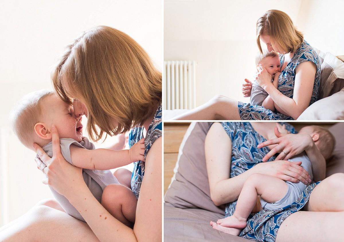 des photos de bébé de la naissance à un an photographe famille lille mons en baroeul seclin