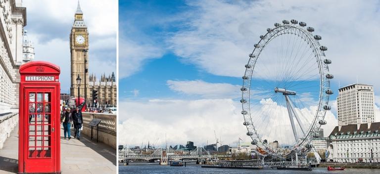 Séance photo en amoureux à Londres