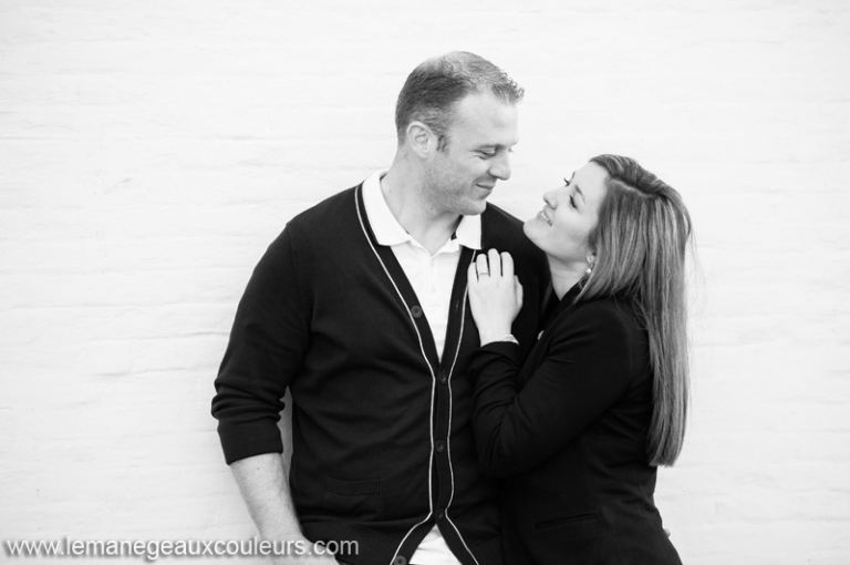 séance engagement à Bruges - wedding photographer