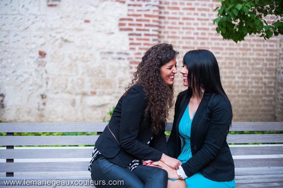 Séance photo couple Lille - femmes amoureuses - mariage pour tous