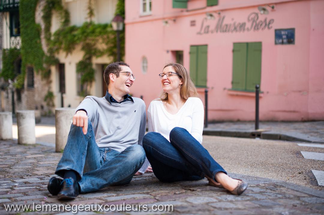 séance photo couple montmartre photographe mariage paris