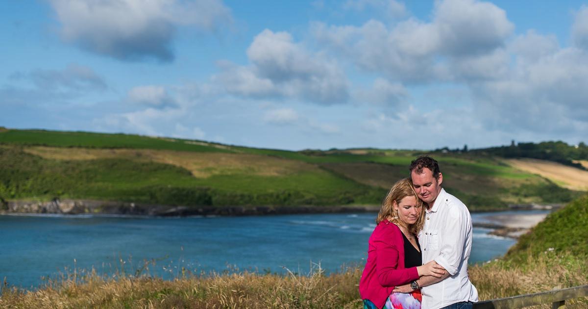 séance photo de couple en irlande
