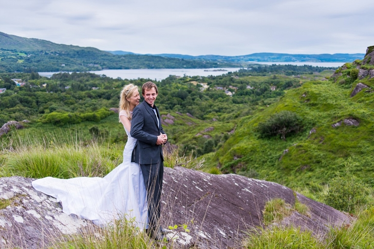 wedding photographer in west cork - day after session in glengarrif - natural and joy photography