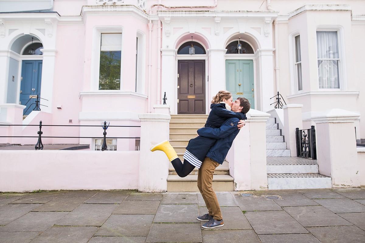 Séance photo en amoureux à Londres – séance engagement Peggy et Benjamin