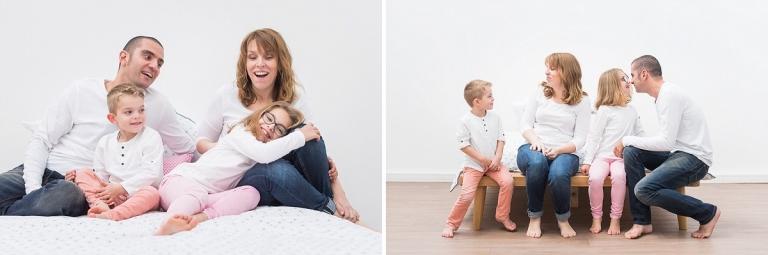 séance photo famille en folie spontanée joyeuse Tourcoing
