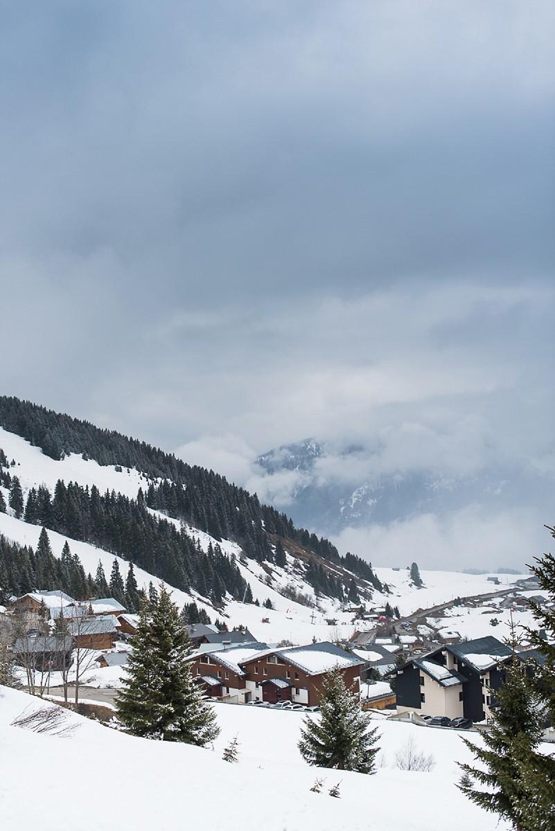 photographe couple station de ski les saisies alpes