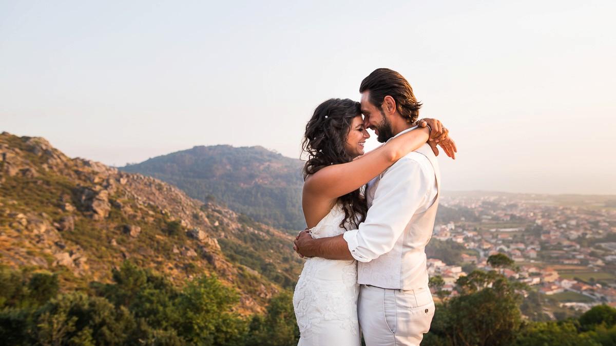 Photographe mariage Porto | Séance jeunes mariés à l'étranger