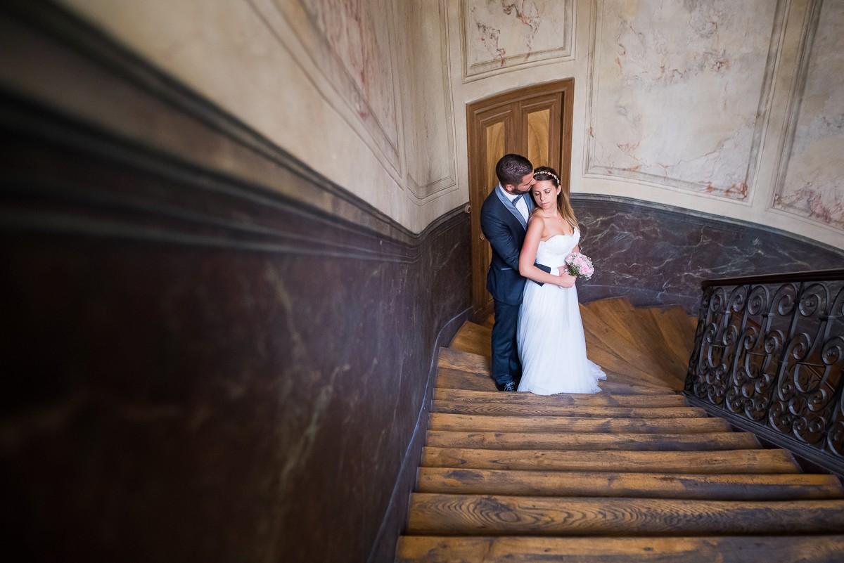 photographe mariage à paris passages parisiens photos de jeunes mariés