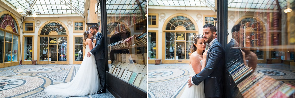 french wedding style photoshoot in paris
