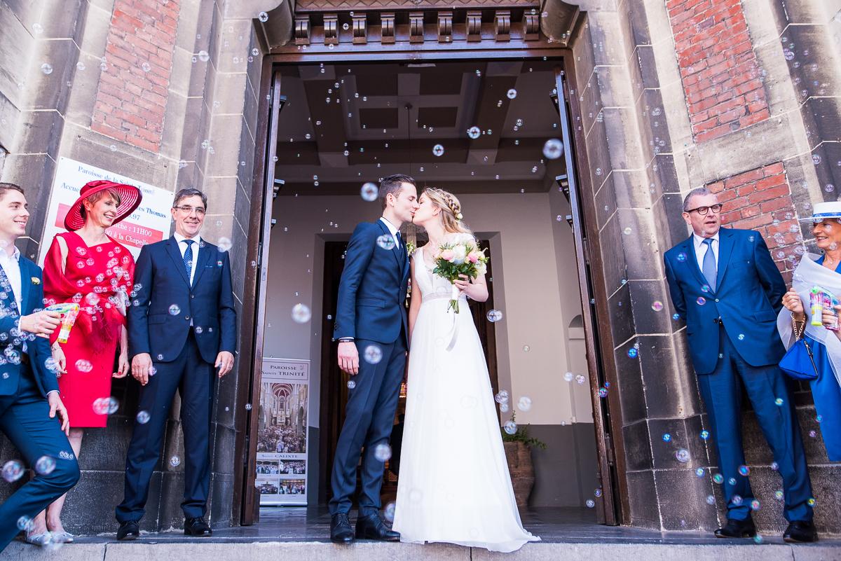 Reportage mariage à Lambersart et à La Commanderie à Kuurne