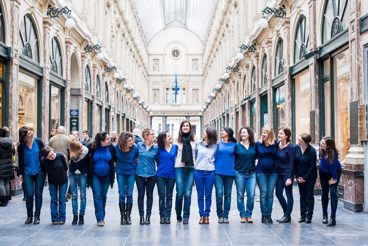 Photographe professionnelle EVJF Bruxelles Nord