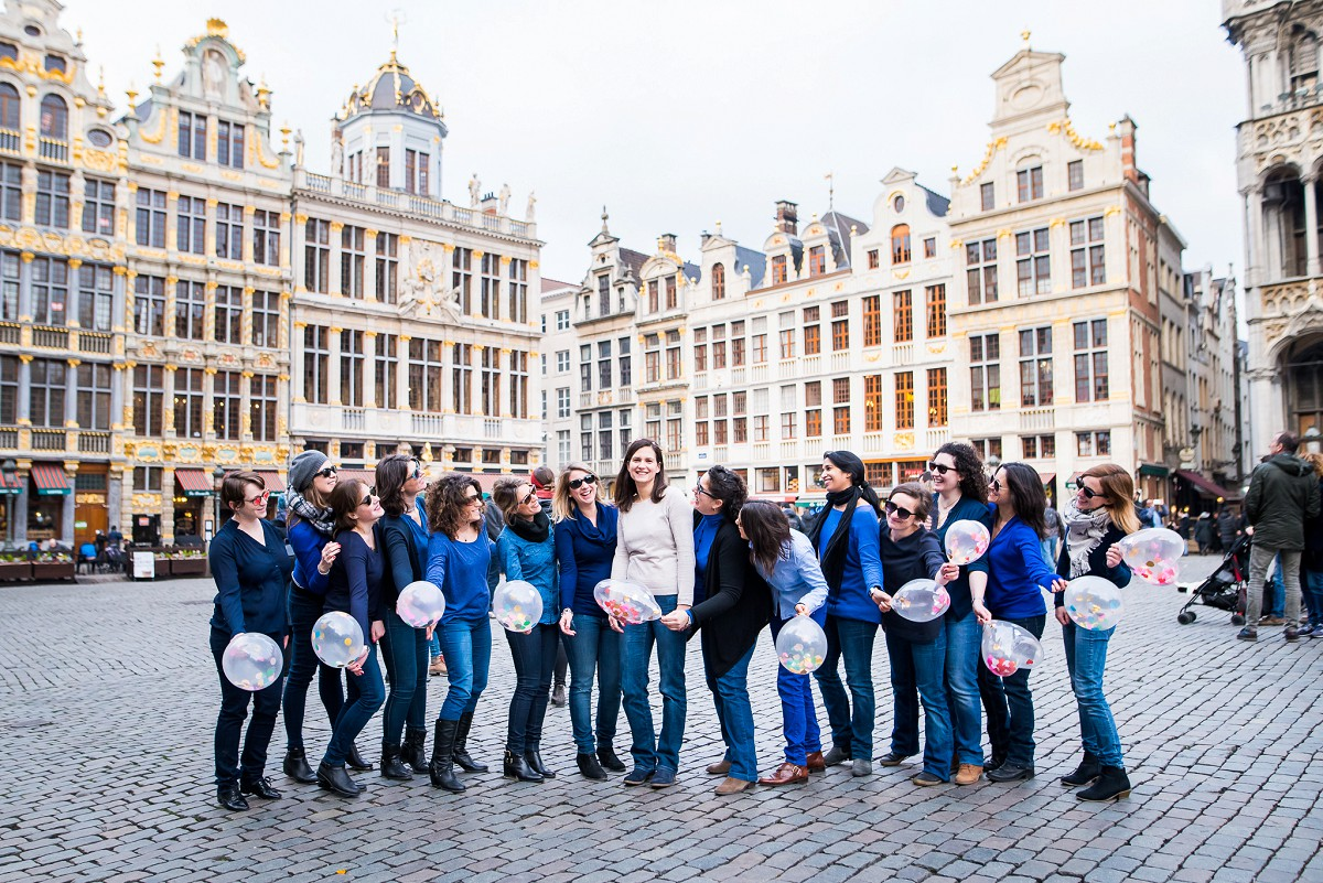photographies EVJF enterrement de vie de jeune fille Bruxelles et Lille entre copines