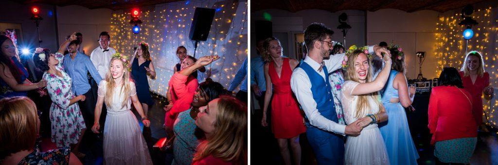 mariage à La Howarderie soirée dansante le clou de la soirée