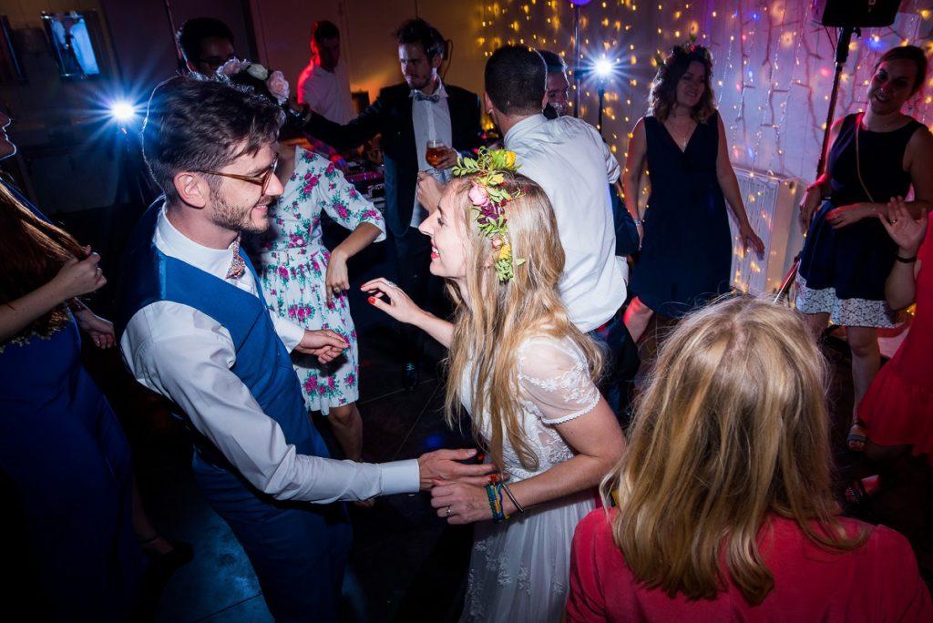 mariage à La Howarderie danse des mariés soirée