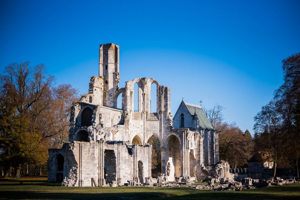 séance photo famille abbaye de fontaine chaalis