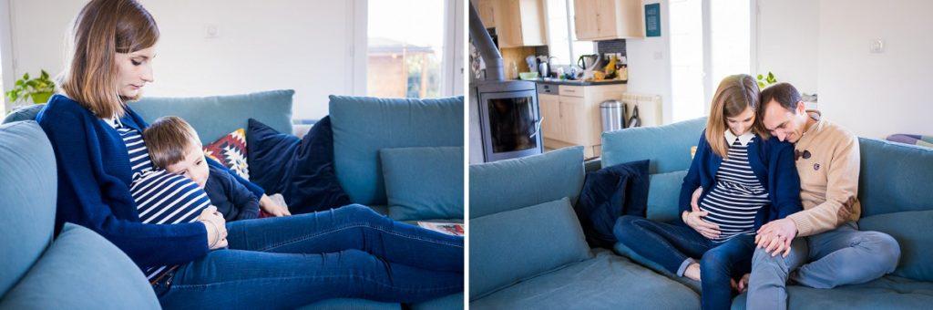 photographe famille Senlis à la maison