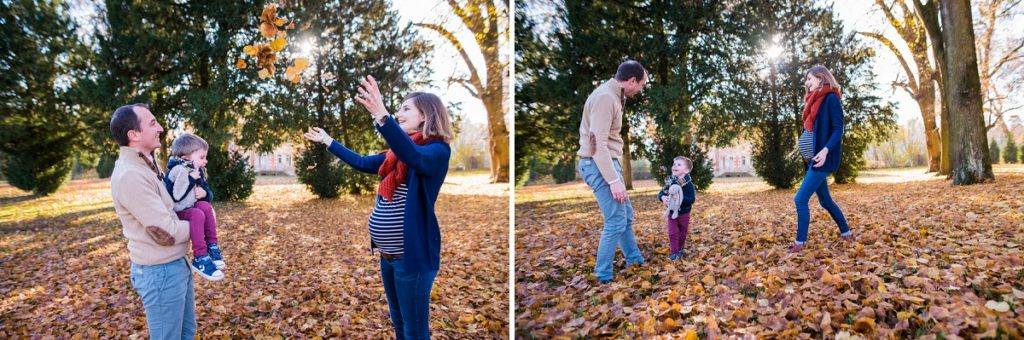 photographe famille Senlis en automne