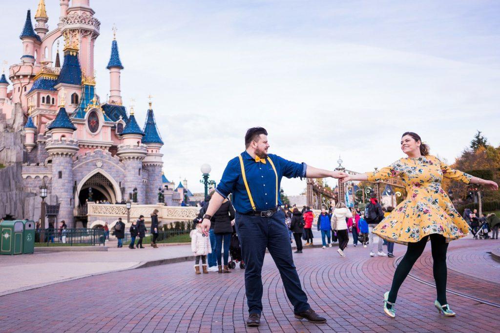 séance engagement à Disney