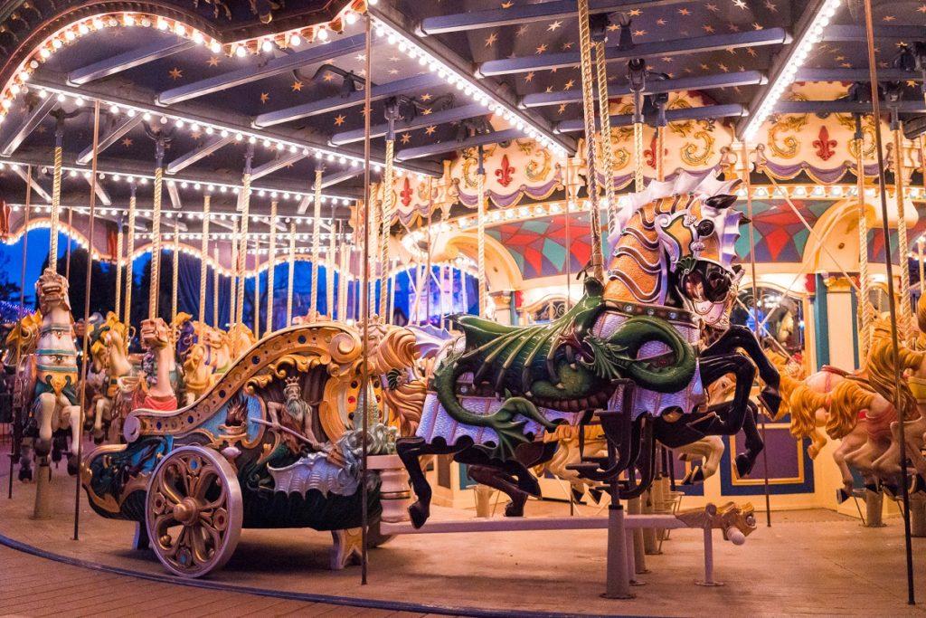 carrousel de disneyland paris