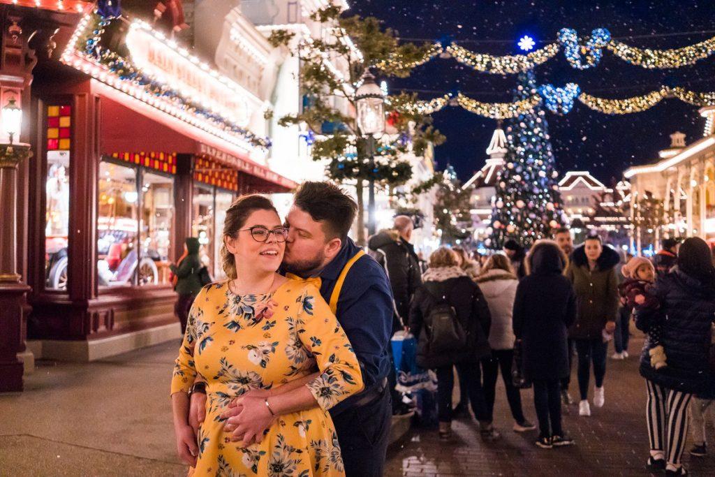 séance photo de couple à disneyland paris