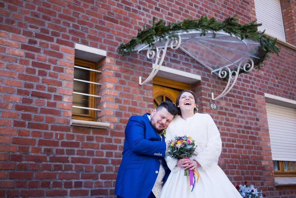 photographe mariage nord hiver