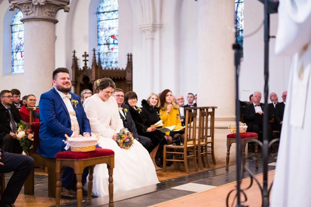 mariage à l'église saint lambert de wattignies