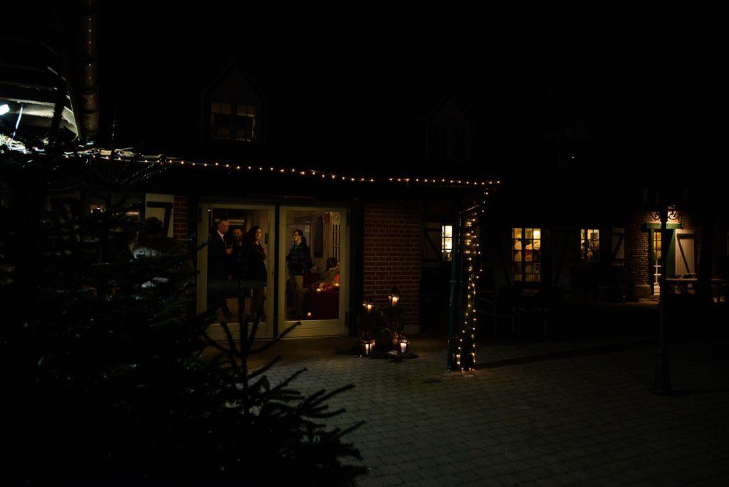 mariage en hiver au Hameau de la Becque