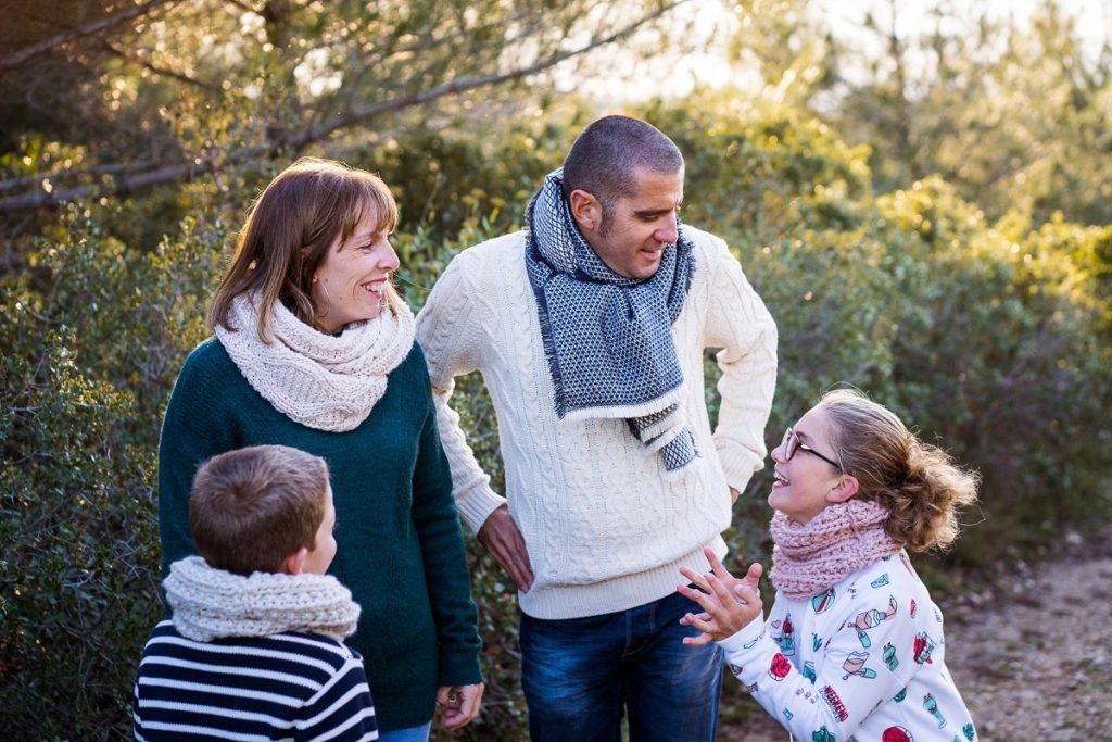 séance photo famille naturelle avignon nimes baux de provence