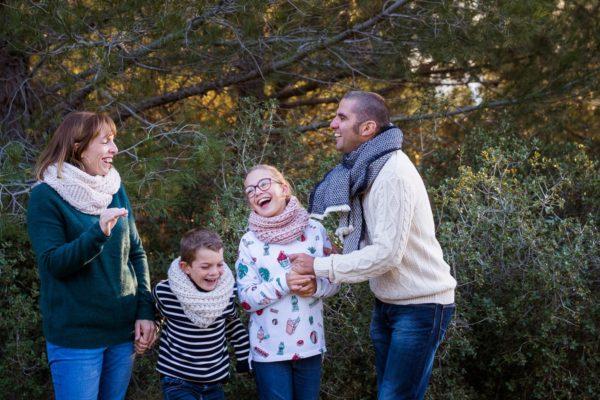photo de famille à avignon baux de provence