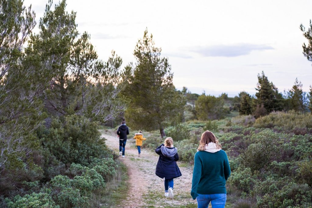 photographe famille baux de provence