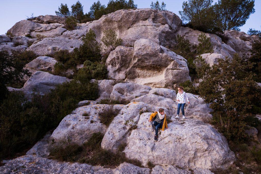 photographe famille dans les baux de provence
