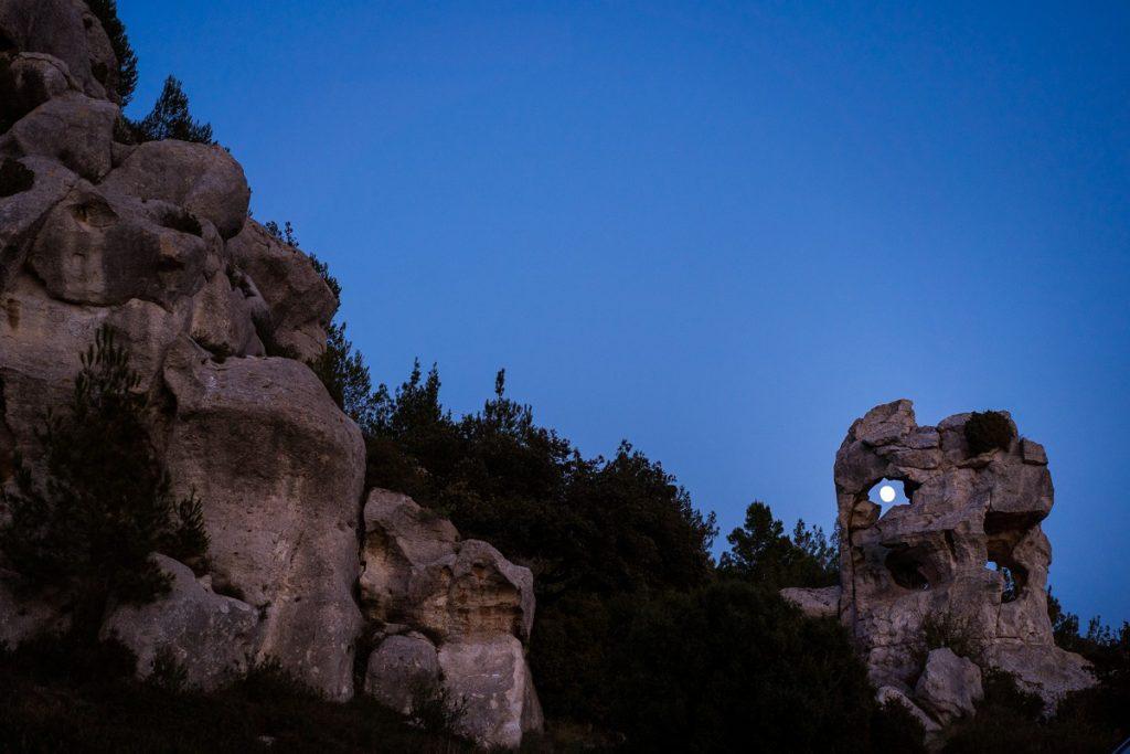 séance photo paysage baux de provence